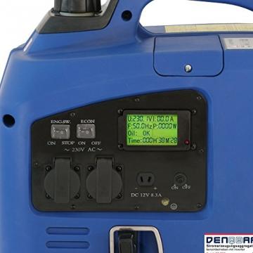 2,2 kW Digitaler Inverter Generator benzinbetrieben DQ2200 - 4