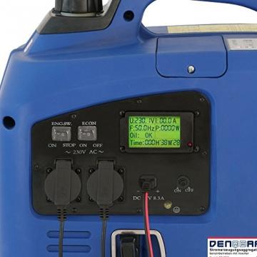 2,2 kW Digitaler Inverter Generator benzinbetrieben DQ2200 - 5