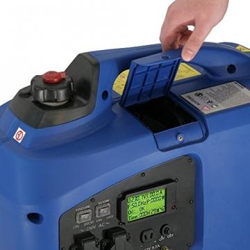 2,2 kW Digitaler Inverter Generator benzinbetrieben DQ2200 - 6