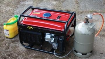 2500 Watt Hybrid Stromgenerator für LPG und Benzin Betrieb - 4
