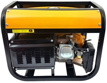 4-Takt 8500 W Stromerzeuger Stromgenerator Generator Notstromaggregat SWISSKRAFT - 4
