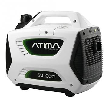 Atima SD1000i 1 kW leiser, tragbarer Inverter Stromerzeuger, Generator, mit 4-Takt Benzin-Motor benzinbetrieben - 2