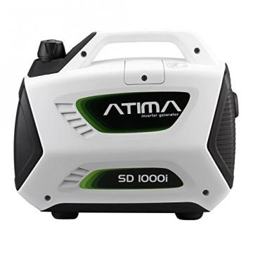 Atima SD1000i 1 kW leiser, tragbarer Inverter Stromerzeuger, Generator, mit 4-Takt Benzin-Motor benzinbetrieben - 3