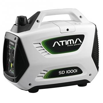 Atima SD1000i 1 kW leiser, tragbarer Inverter Stromerzeuger, Generator, mit 4-Takt Benzin-Motor benzinbetrieben - 1