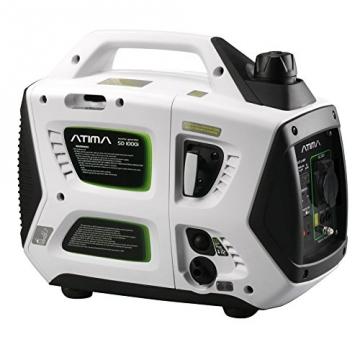 Atima SD1000i 1 kW leiser, tragbarer Inverter Stromerzeuger, Generator, mit 4-Takt Benzin-Motor benzinbetrieben - 6
