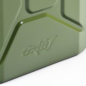 Benzinkanister Metall 20 Liter mit UN-Zulassung - TÜV Rheinland Zertifiziert - Bauart geprüft (Benzinkanister 20 Liter) - 3