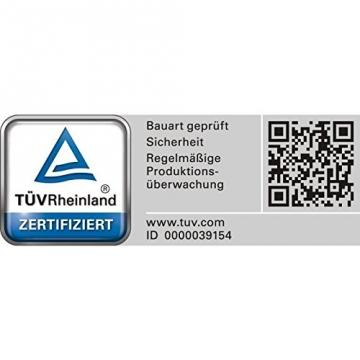 Benzinkanister Metall 20 Liter mit UN-Zulassung - TÜV Rheinland Zertifiziert - Bauart geprüft (Benzinkanister 20 Liter) - 5