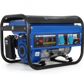 EBERTH 3000 Watt Stromerzeuger Notstromaggregat Stromaggregat Generator - 1