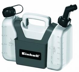 Einhell Kombi-Kanister ( 1,25 l Öltank, 3 l Benzintank, inkl. Werkzeugtasche) - 1