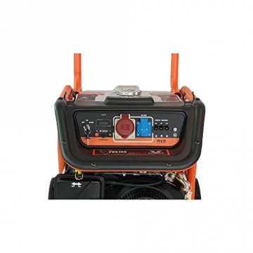 FX-SG7500B mit 380V und Elektrostarter Anschluss Stromerzeuger Motor Stromaggregat Stromgenerator - 6