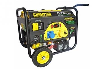 Generator Champion 6500 Watt Benzin 5500 Watt Gas Notstromaggregat Stromerzeuger 230V EU - 1