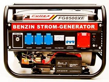 Stromerzeuger FG-8500XE Elektrostart mit 3.0 kW Dauerleistung für Gartenbereich sowie Freizeit- und Campingaktivitten. - 3