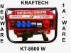 Stromgenerator 6000W Stromerzeuger, Notstromaggregat, Aggregat, Stromaggregat 6,5 PS / 4-Takt / 12, 220, 380V / Luft gekühlt - 1