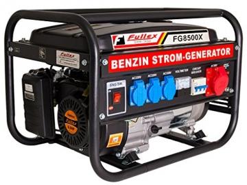 Stromerzeuger FG-8500X mit 3.0 kW Dauerleistung für Gartenbereich sowie Freizeit- und Campingaktivitten. -