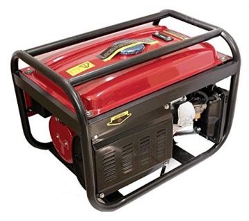 Stromgenerator Benzin 230/380V 5500W trifasico monofasico X3Tank 15L -